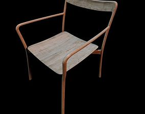 Mattiazzi Branca Chair 3D model