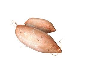Sweet Potato Brown 3D asset