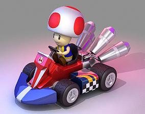 VR / AR ready Toad from Mario Kart - Nintendo 3D model