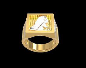3D printable model Zodiac VIRGO ring