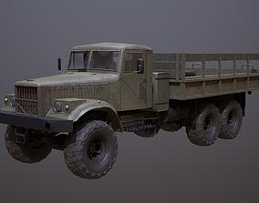 3D asset KrAZ-255