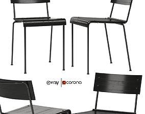 3D model Stride side chair