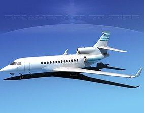 Dassault Falcon 7X V16 3D