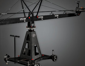 3D model HLW - Production Camera Crane 01 - PBR Game Ready
