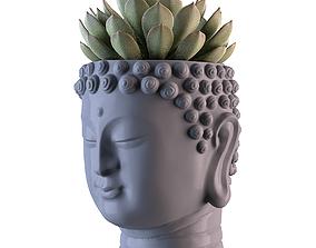 Head Buddha Vase 3D print model