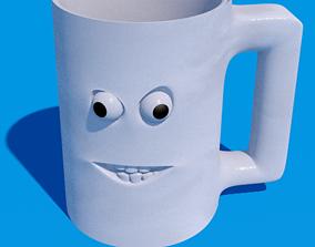 3D Cup blank mug