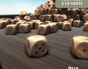 game-ready Dice Model