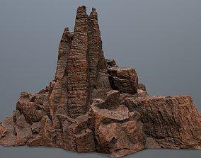 geology Rocks 3D model game-ready