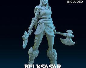 3D printable model Girl Viking