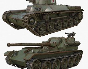 3D model Tank Collection Vray 003