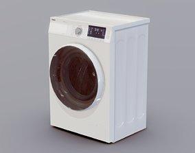 3D asset VR / AR ready Washing Machine