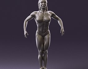 woman bodybuilder competition 1106 3D Print Ready