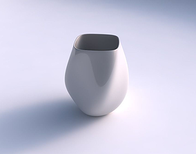 Vase low bulky helix smooth 3D print model