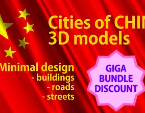 3D China Cities Giga Pack