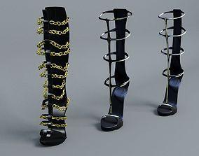 Sandals Gladiator 3D model