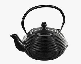 3D model Chinese metal teapot