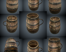 cup 3D asset realtime barrel
