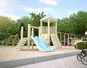 Children Playground Collection 3D