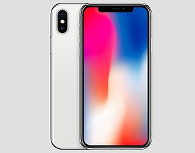 animated Iphone 10 3d model