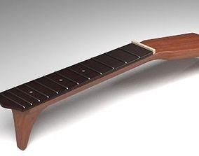 Guitar Neck 3D model