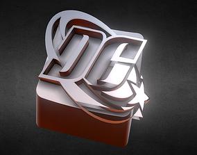 3D printable model DC Logo Keycap