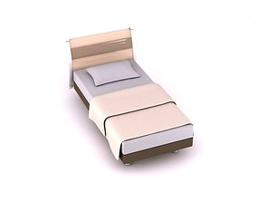 3D model Twin Size Bed