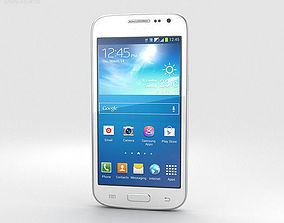 3D Samsung Galaxy S3 Slim White