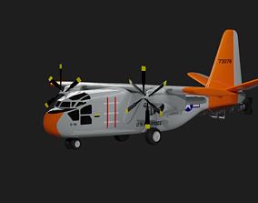 Hiller X-18 - Tiltwing Experimental Aircraft 3D