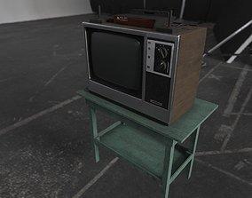 Retro Gaming Set - Atari 3D asset