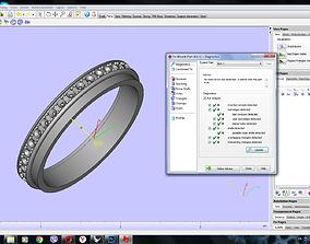 Boucheroonn Quatro ring 3D print model