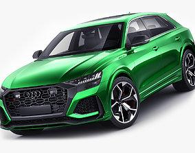 Audi RS Q8 2020 3D model