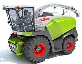 Claas Jaguar Combine Harvester 3D