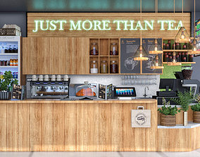 3D model Coffee Shop 4