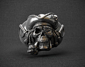 3D printable model model Ring pirat