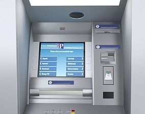 ATM Machine Wincor Nixdorf 3D model