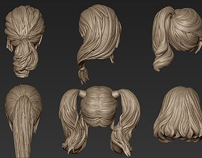 3D model Hair Collection 6