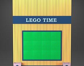 lego board 3D model