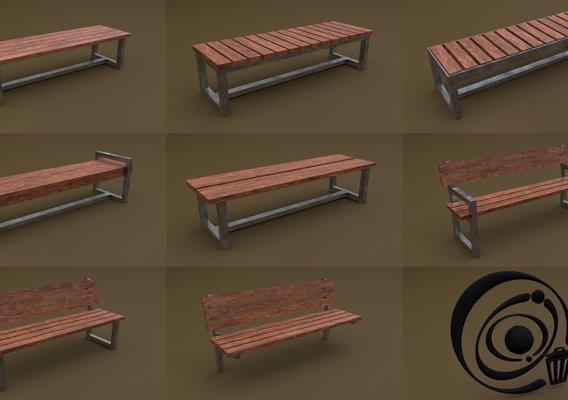 Bench Set 8M1T 03 RR