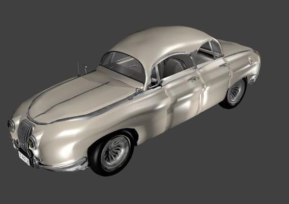 MK II Jaguar Model