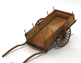 3D model ancient chariot