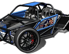 Rookie Chassis 3D model