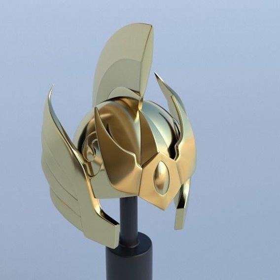 Helmet Aries Mu (saint seiya)