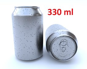 Beverage can 330 ml 3D asset