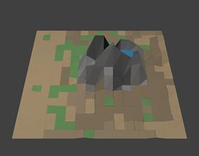 Low Poly Savanna 3D asset