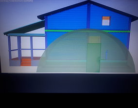 3D printable model architecture Duble microhome