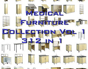 Medical Furniture vol1 3D