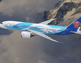 3D model Boeing 787 Dreamliner China Southern Airlines 1