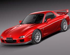 3D Mazda RX-7 1998 - 2002