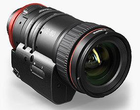 3D model Canon Compact-Servo CN-E 18-80mm T4-4 EF Lens
