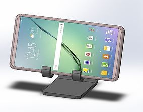 3D printable model Elephant simple smartphone holder